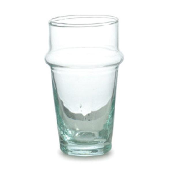 BELDI, 6 Verres à eau en verre soufflé, 18cl